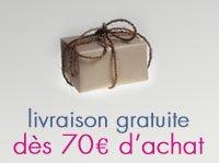 Livraison offerte à partir de 70€ d'achat