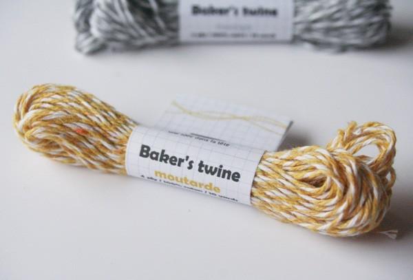 baker's twine / moutarde
