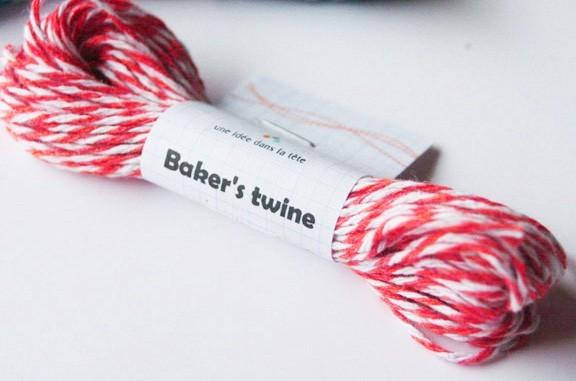 baker's twine / rouge
