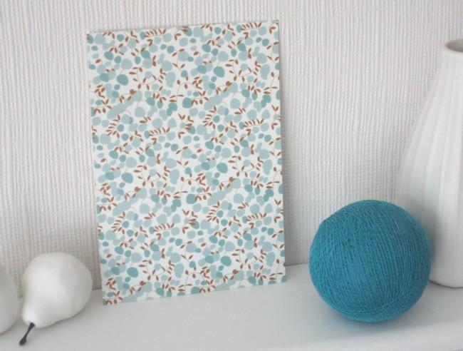 Carte postale Liberty / les fleurs bleues