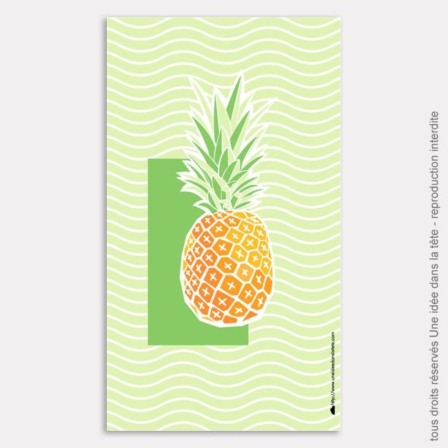 DIY : l'ananas ou comment rendre son téléphone tropicool