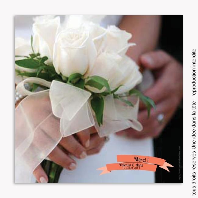 remerciements mariage / guinguette