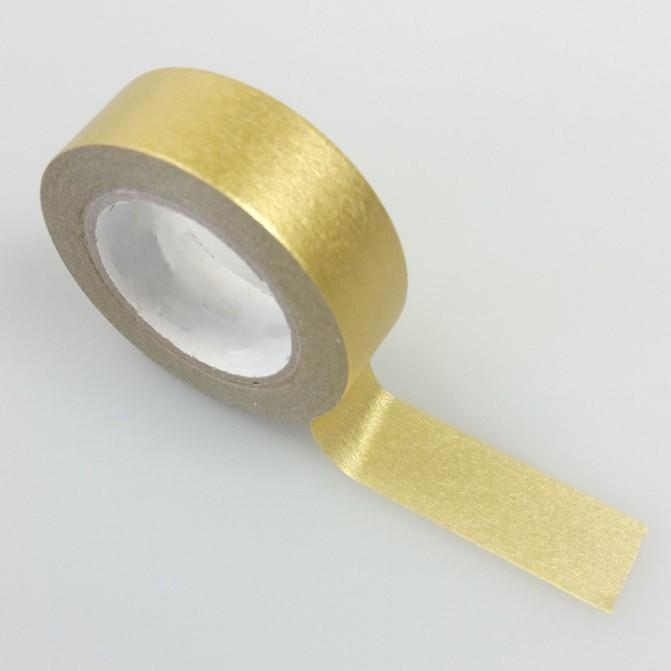 masking tape métallisé / uni or