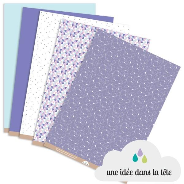 papiers scrapbooking collection : printemps