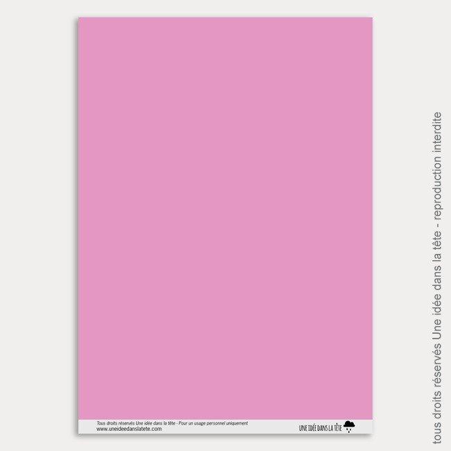 Papier Scrapbooking Licornes / uni / barbapapa