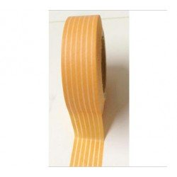 masking tape rayures - orange