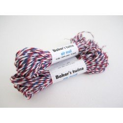 baker's twine / rouge et bleu Air Mail
