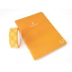 carnet uni - orange