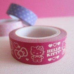 masking tape hello kitty / rose