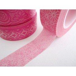 masking tape origami / rose pastel