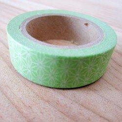 masking tape origami / vert