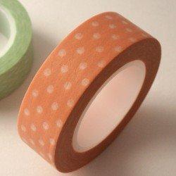 masking tape pois / pêche