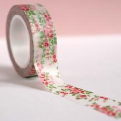 masking tape petites roses