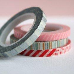 masking tape fin / les rayés