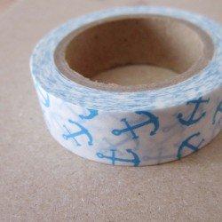 masking tape ancres marines / bleu