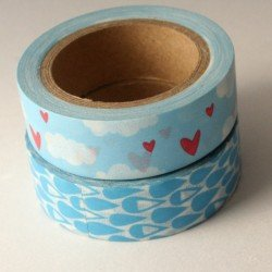 masking tape duo / in the sky