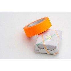 masking tape uni / orange fluo