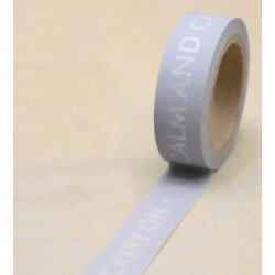 """Masking Tape """"Keep calm and carry on"""""""