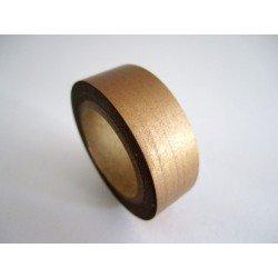 masking tape métallisé / uni / cuivre