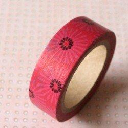 masking tape paquerettes / rose