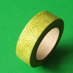 masking tape paquerettes / verte