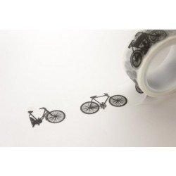 masking tape vélos / noir