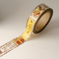 masking tape voyage / vintage