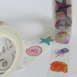 masking tape aquarelle / bord de mer