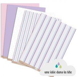 papiers scrapbooking collection : pastel