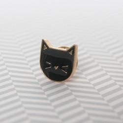 pin's chat / noir