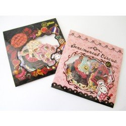 Stickers le cirque / pochette rose : la magie