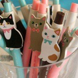 stylos les chats