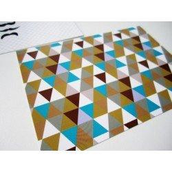 Carte postale / triangles